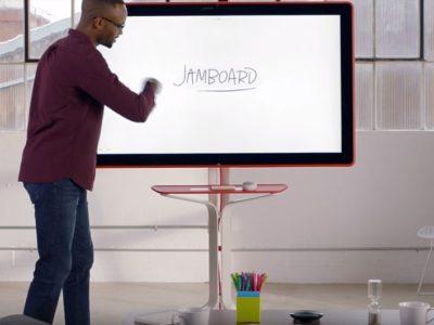"Google whiteboard ""JamBoard""- video review"